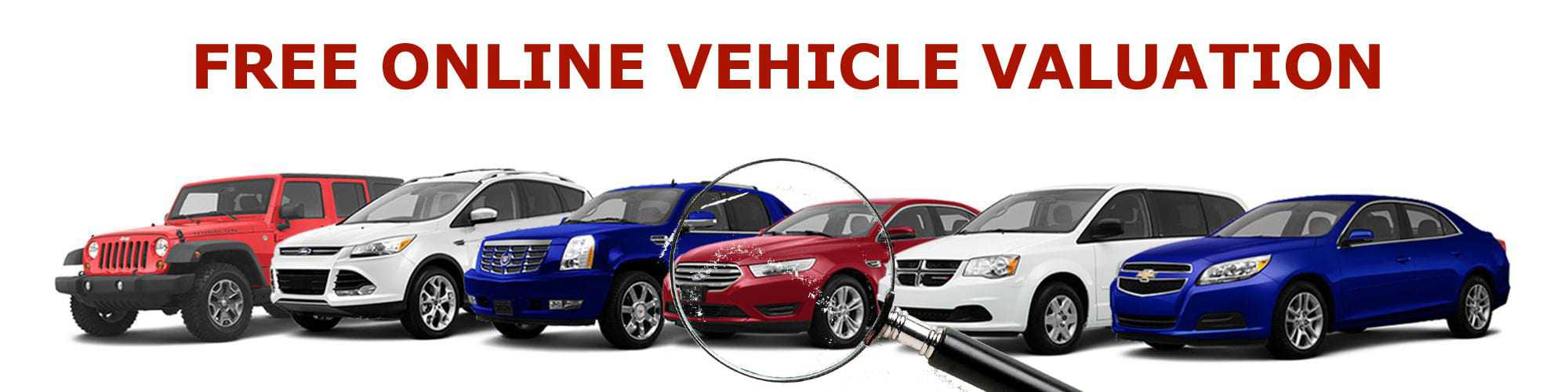 Free Online Vehicle Valuation