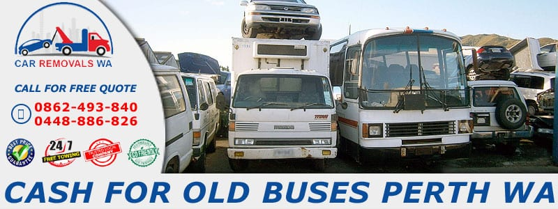 Cash For Old Buses Perth WA