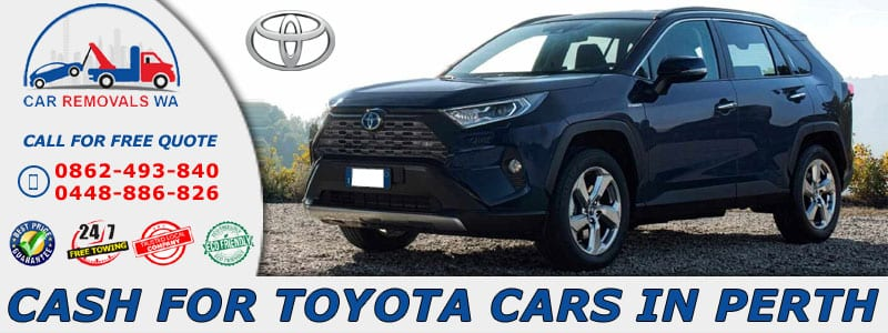 Cash For Toyota Cars Perth