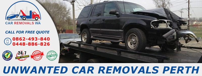 Unwanted Car Removals Perth